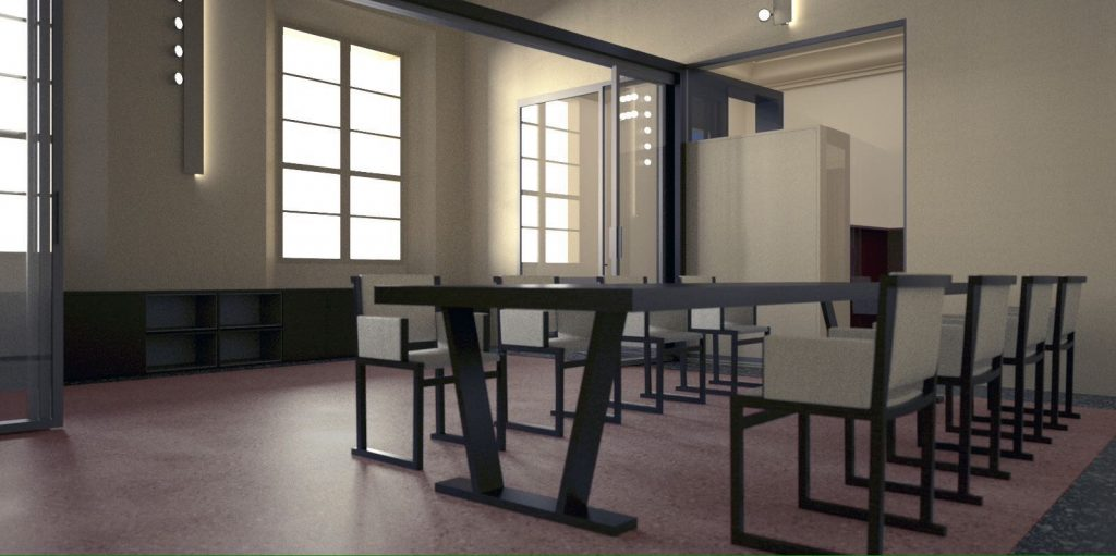 render Studio legale progettato da Annagrazia Gemini