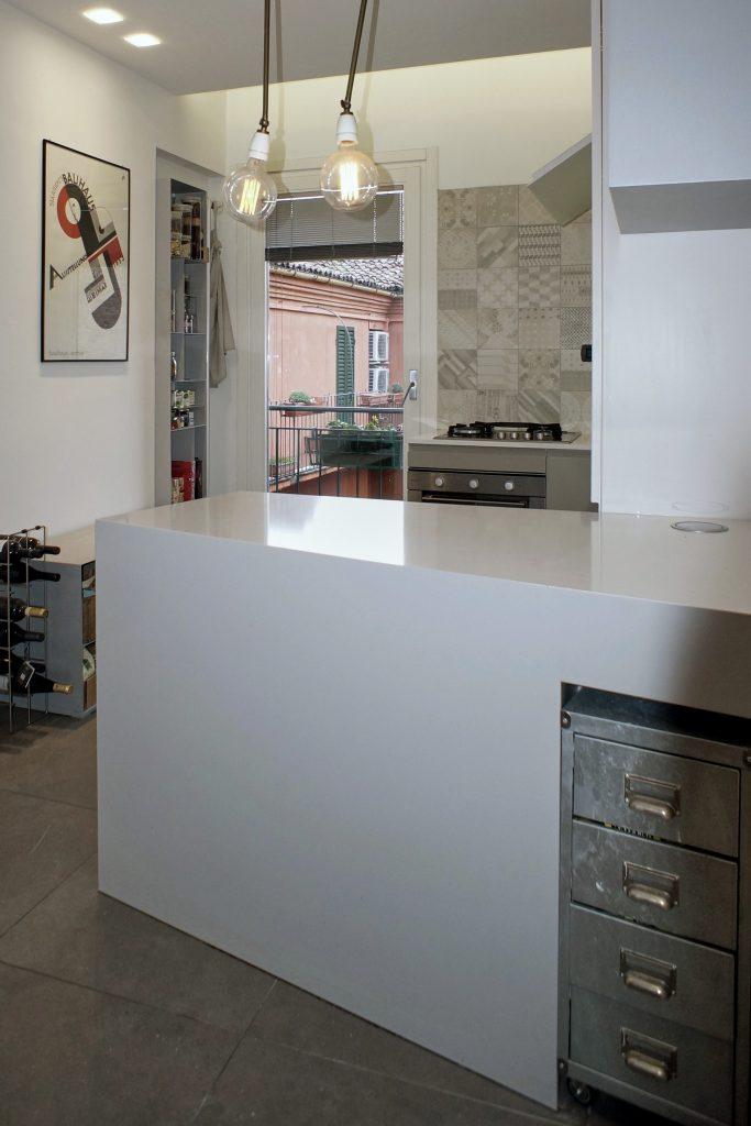 cucina progettata da Annagrazia Gemini per abitazione residenziale